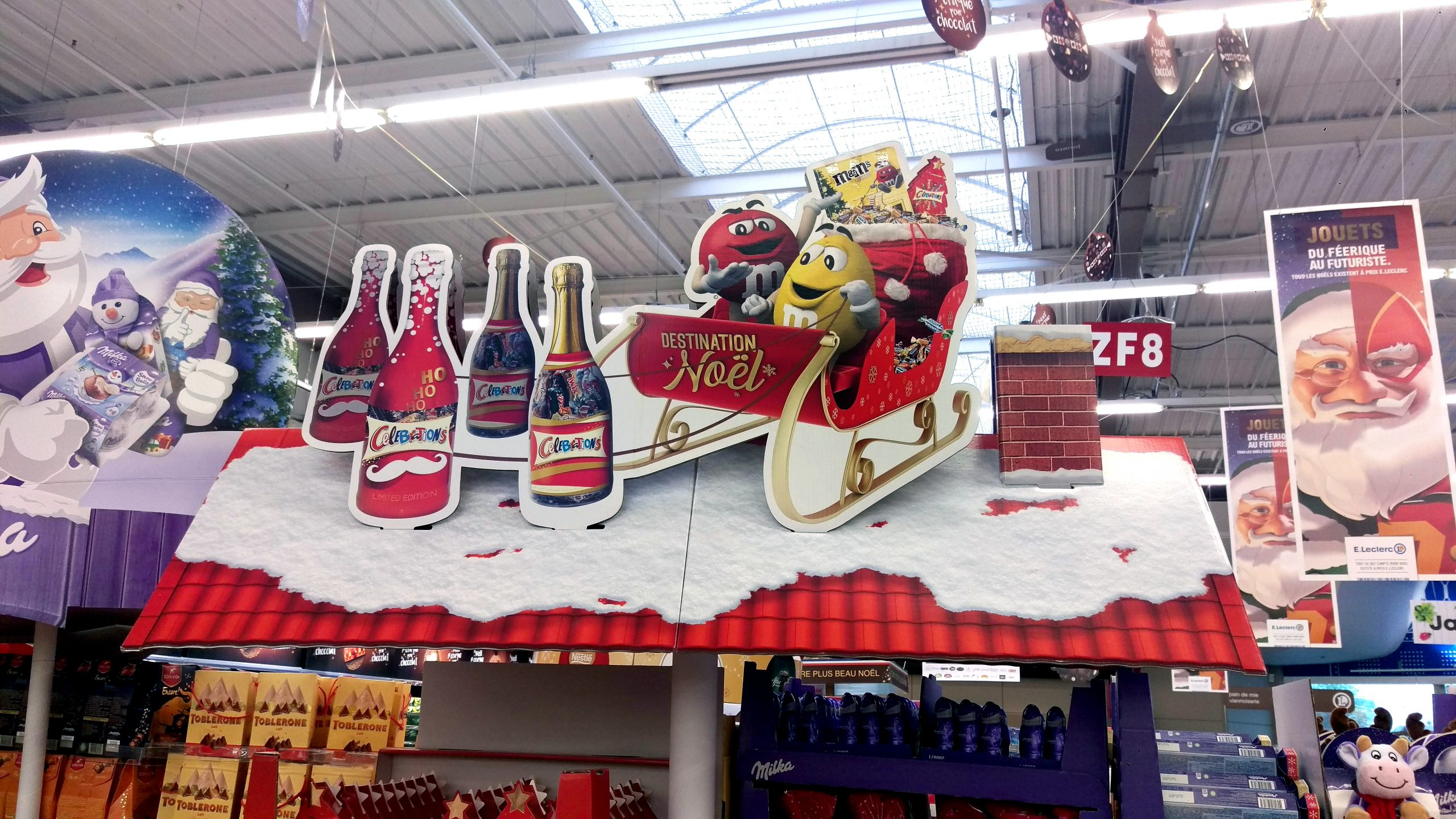pos display christmas header